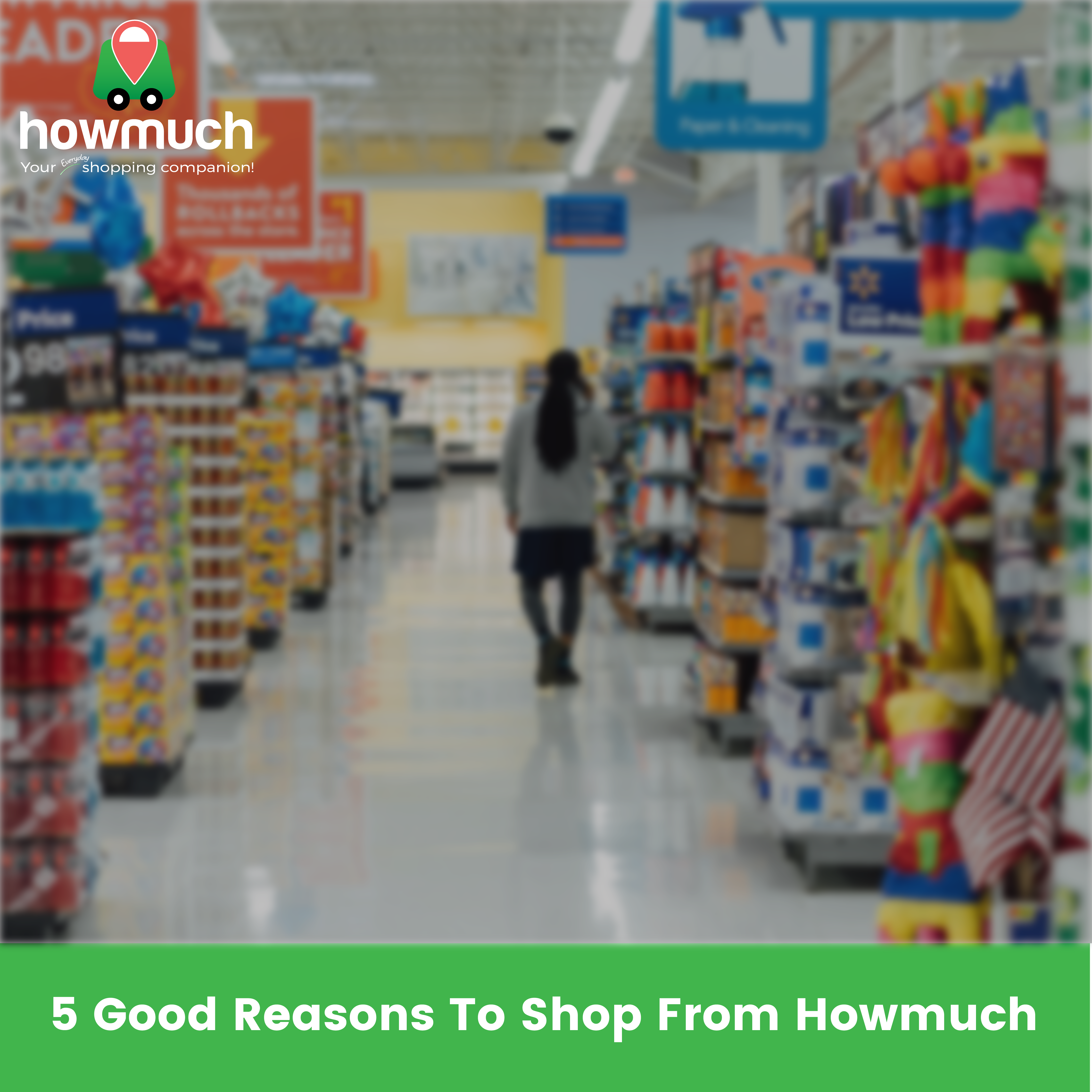 5 Good Reasons To Shop From Howmuch