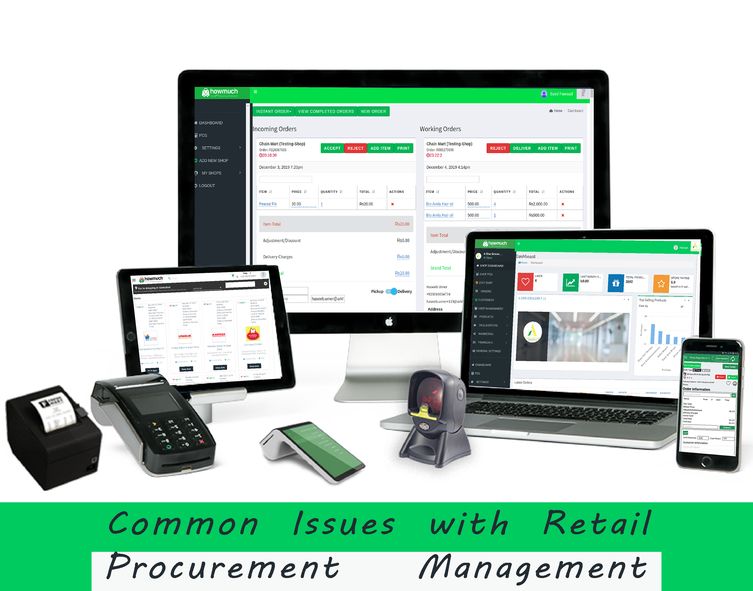 Common Issues with Retail Procurement Management