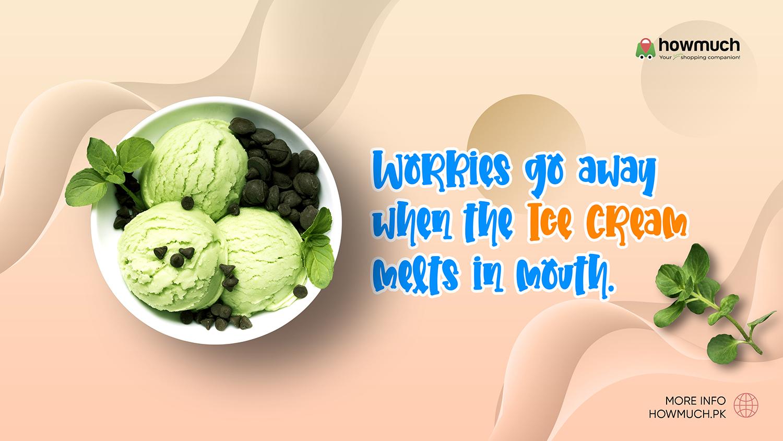Trending Ice-cream Brands In Pakistan